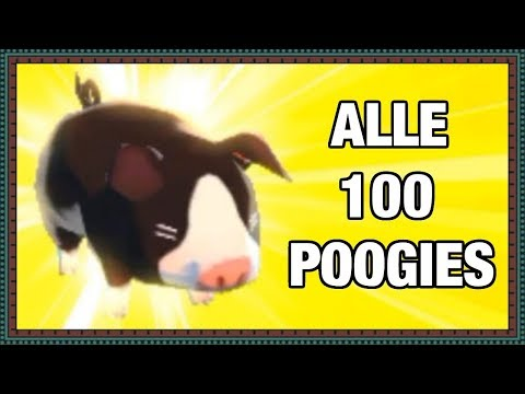 MHS Alle 100 Poogies (all poogie location, all 100 poogiespoogie) 3DS, 720p