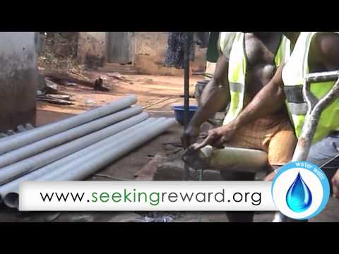 Water Well Complete - Tchaoudjo Western Region (Togo)