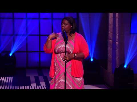 Retta Tells it Like it is at Comedy Gives Back International Show #youtubecomedyweek