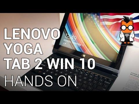Lenovo Yoga Tablet 2 10 with Windows hands on [ENGLISH]