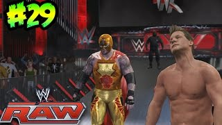 WWE 2K16 - El Debut en RAW de Nacho Libre - Todo Listo para Royal Rumble