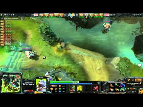 LGD DOTA 2 Showdown - Pudge Only Game 2 - Tobi Wan