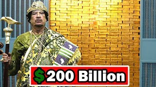 Muammar Gaddafi's Lifestyle ★ Net worth ★ Biography ★ cars ★ houses ★ jet ★ Family