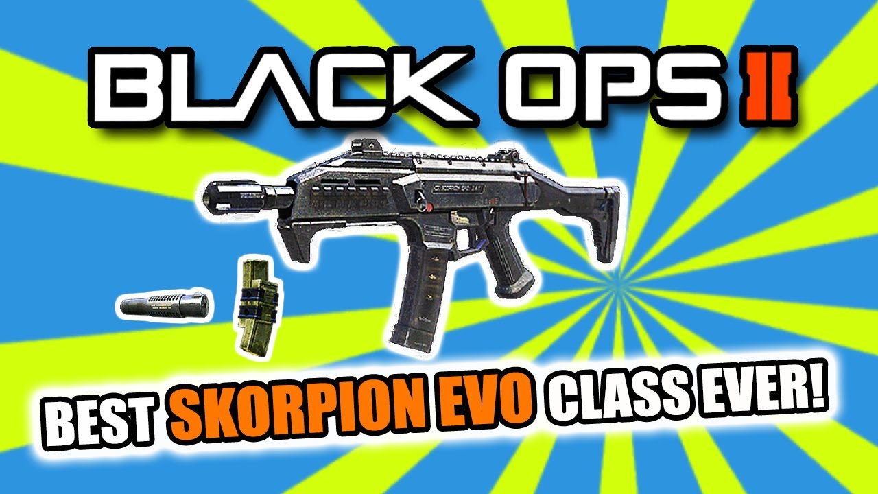 Scorpion Black Ops 2 Black Ops 2 Best Smg Class