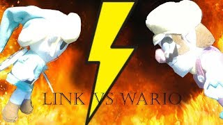 A Wild Plush Short: Link Vs  Wario