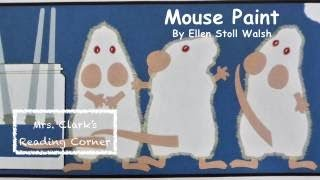 Mouse Paint - Learn Colors & Words