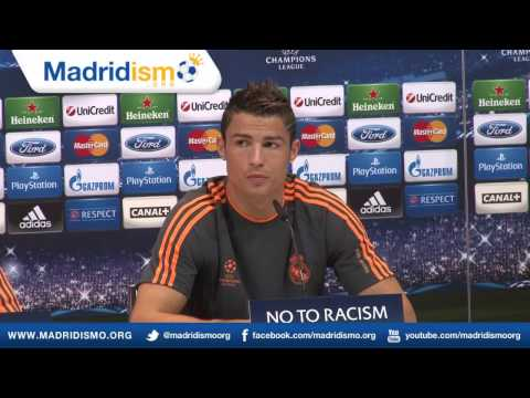 Cristiano Ronaldo & Carlo Ancelotti Full Champions League Press Conference in English