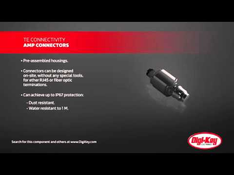 TE Connectivity RJ45 Fiber-Optic Metal Shell Connectors | Digi-Key Daily