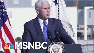 "President Donald Trump: ""It's The Future... It's Space."" 
