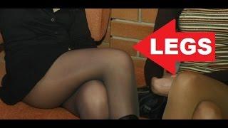 Nylon pantyhose compilation 153