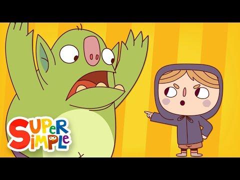 Go Away, Spooky Goblin! | Spooky Simple Song