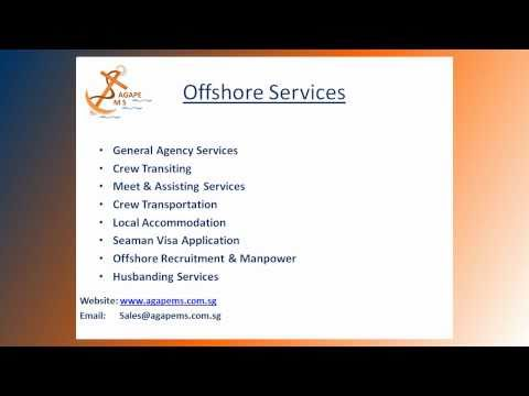 Agape MS - Offshore Marine & Crewing Services - Singapore
