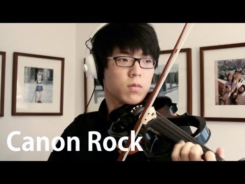 Canon Rock - Jun Sung Ahn & Sungha Jung Collab video
