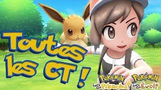 Pokémon Let's Go, Pikachu et Évoli : Toutes les CT