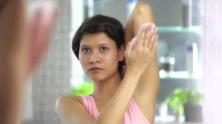 Demo Video for using Veet Wax Strips for Back of Arms