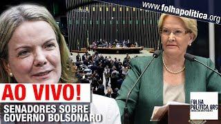 AO VIVO: SENADORES SE PRONUNCIAM SOBRE A VÉSPERA DO INÍCIO DO GOVERNO JAIR BOLSONARO