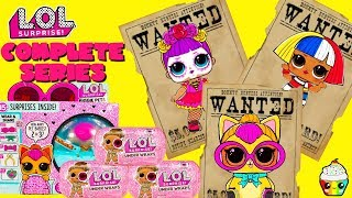 Completing LOL Surprise Under Wraps Wave 2 + Biggie Pets Wave 1 & 2
