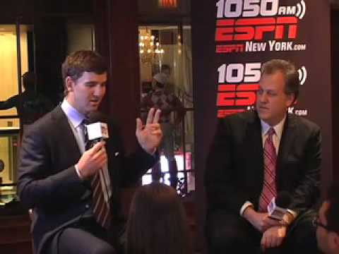 1050's Evening with Eli Manning Video