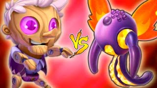 Monster Legends - Mr. Scratch Vs Leviana - Fairy Tales Island