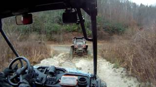 HONDA PIONEER 500 FOLLOWS BIG BORE RZRS IN WV MOUNTAINS IONX0014