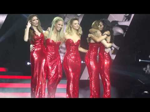 Girls Aloud - LAST ever performance part 1 - I'll Stand By You - Liverpool - Ten The Hits Tour