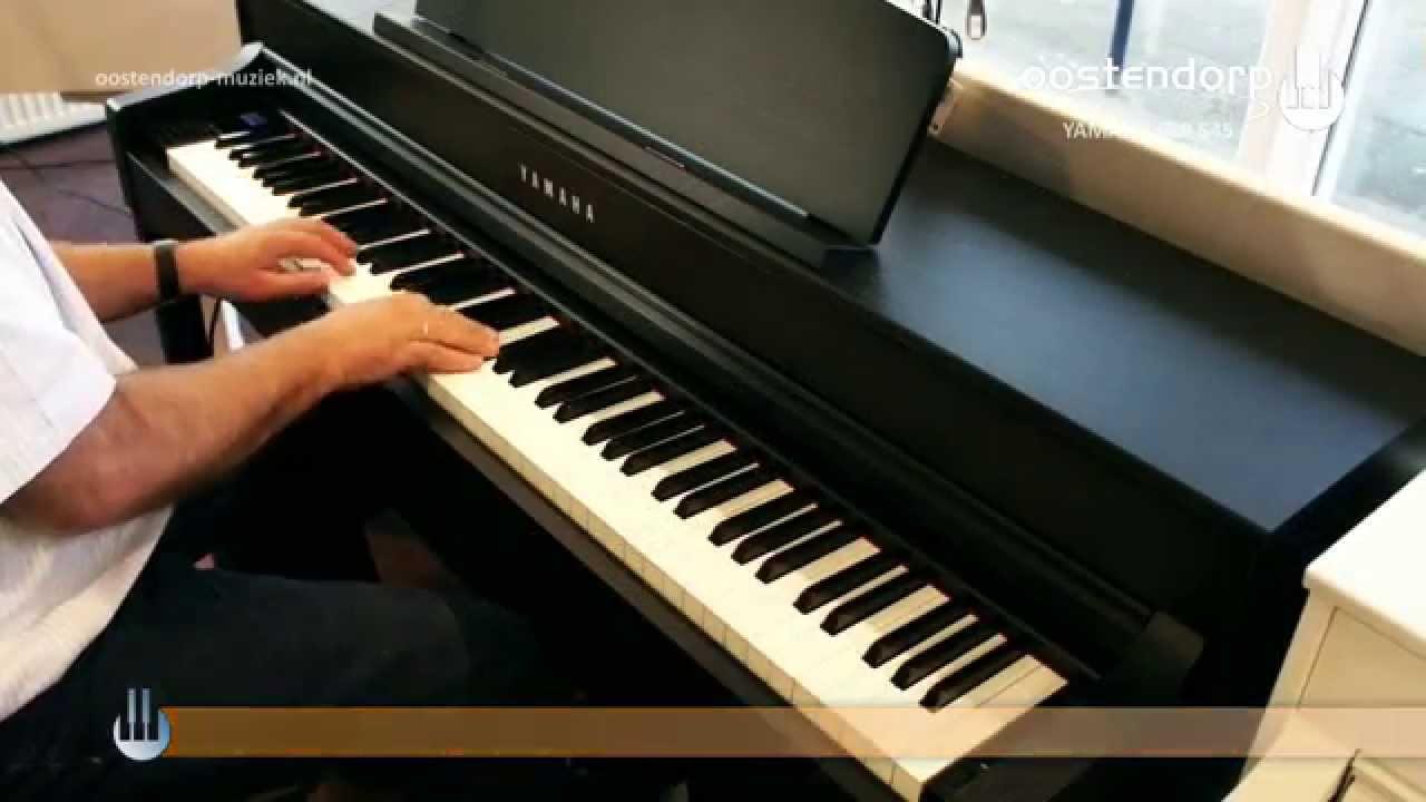 yamaha clp 545 digitale piano sounddemo youtube