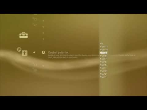 Tutorial: Configurar el control parental en PS3