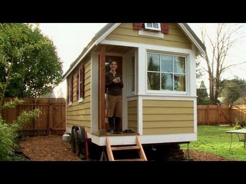 Las mini casas aumentan en eeuu youtube for Casas prefabricadas economicas