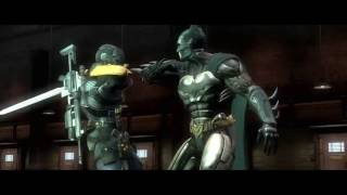 Injustice Complete Story - Part 1: The Batman vs Deathstroke - Lines are Drawn - HD
