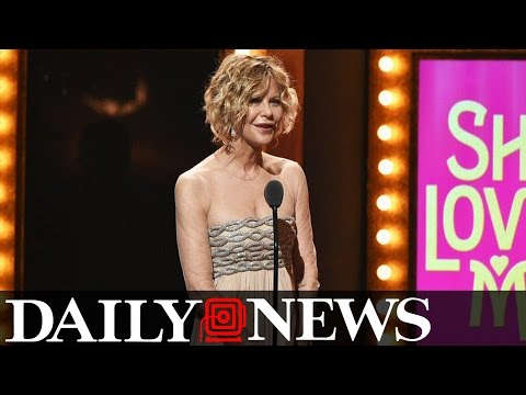 Meg Ryan's Face and Dress At The Tonys Scare The Internet