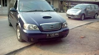 Fuel Saver (HHO) on KIA Carnival 2.9D 2003