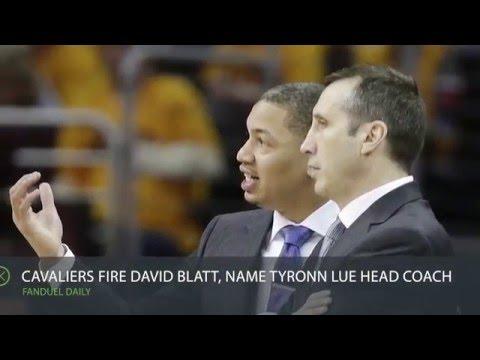 FanDuel Insider 1/22: Cavaliers fire David Blatt