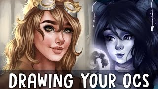 Drawing Your OCs | Episode 7 | Jenna Drawing