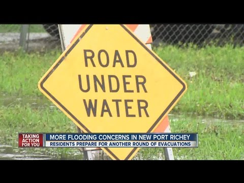 New Port Richey residents prepare for flooding