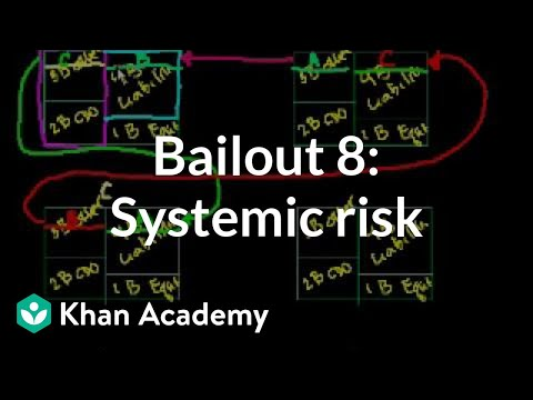 Bailout 8: Systemic Risk