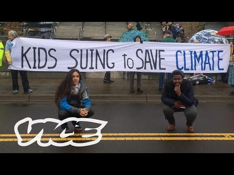 The 15 Year Old Environmental Activist Suing the Government over Climate Change