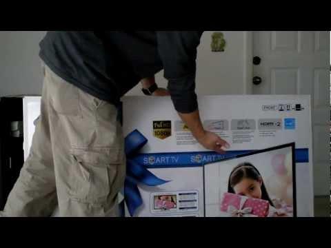 How to Setup Samsung Smart TV Review pt1