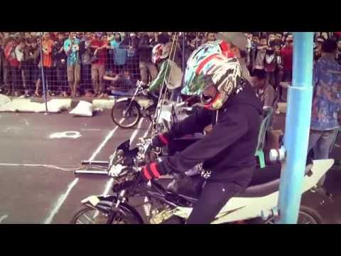 INDONESIA DRAG BIKE GADHURO PEKALONGAN - Semua Kelas Matic, Sport, Tune UP, dan Full RACING  HD