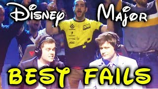 Best FUN and FAIL moments of Disney Major