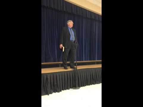 Dr. Barbaro. Bob Jones Academy 2014