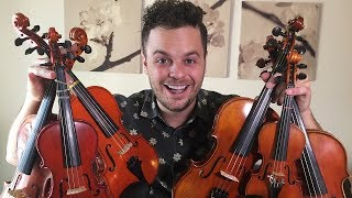 """Download Lagu PLAYING ONE SONG WITH 6 SMALL VIOLINS - """"Believer"""" by Imagine Dragons (Live Loop Cover) Gratis STAFABAND"""