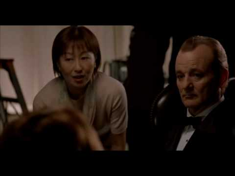 Lost in Translation Suntory Time scene