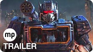 BUMBLEBEE Trailer 2 German Deutsch (2018) Transformers Film