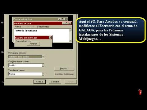 Tutorial: Como Instalar el Sistema Operativo RetrOS para ARCADE Parte 1