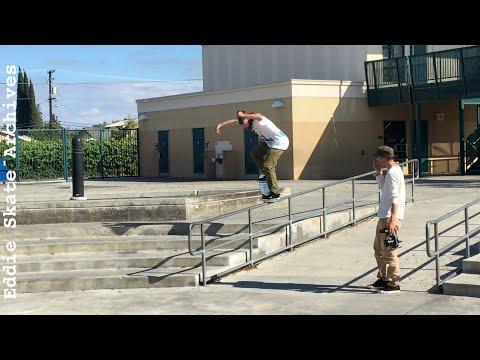 Torey Pudwill Skateboarding Compton California Footage #1