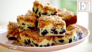 Beth's Blueberry Crumb Cake Recipe | ENTERTAINING WITH BETH