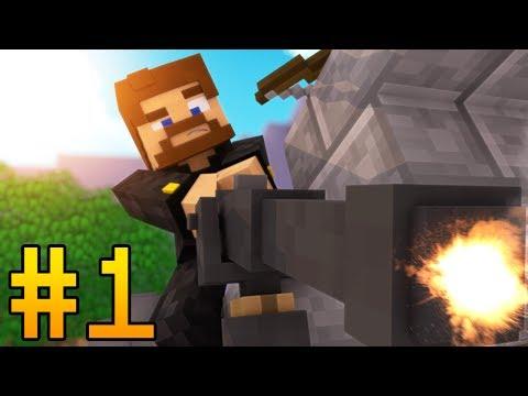 ОБОРОНЯЮСЬ ОТ НАСТУПАЮЩИХ МОБОВ - Minecraft Tower Defence #1
