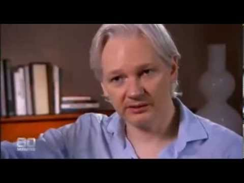 Julian Assange Interview on 60 Minutes - ninemsn 04 August 2013