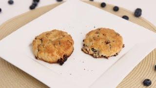 Lemon Blueberry Scones Recipe - Laura Vitale - Laura in the Kitchen Episode 635