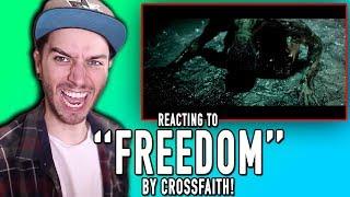"""Freedom (Ft. Rou Reynolds)"" - CROSSFAITH REACTION!"